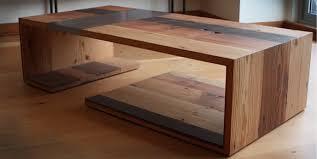 modern wood and metal furniture. Salvaged Wood And Metal...great Design - Look At Those Joints! The Darker Board Intersects Metal To Form An Offset Cross Detail On Top. Modern Furniture