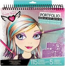 Fashion Angels Design Amazon Com Fashion Angels Make Up Hair Design Sketch