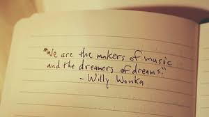 Music Dreams Quotes Best of We Are The Makers Of Music And The Dreamers Of Dreams Dreaming