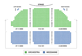 The Music Box Theater Seating Chart