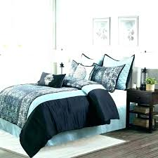 fuzzy faux fur duvet cover black panther set