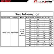 Fishing Line Test Chart Amazon Com Cushy 500m Daiwa Brand Series 2 32lb Super