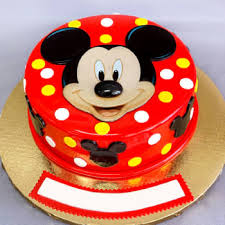 order mickey mouse fondant cake 2 kg