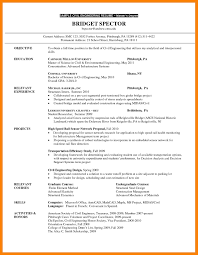 Grad School Resume Template Wondrous Templates Objective High