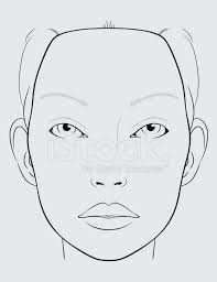 Blank Face Templates Awesome Blank Face Chart Templates Gsfoundation