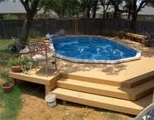 above ground pool decks. Brilliant Above Above Ground Pool Pictures With Decks  Bing Images And