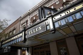 Ellen Theater Seating Chart Ellen Theatres Newly Revealed Marquee Inspired By The