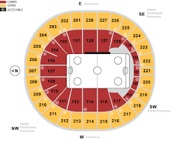 Key Arena Detailed Seating Chart Stadium Attractions Seattle Eagles