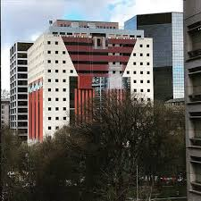 postmodern architecture. Delighful Architecture The Portland Building Under Construction Image  Iain MacKenzie Via  Docomomo On Postmodern Architecture