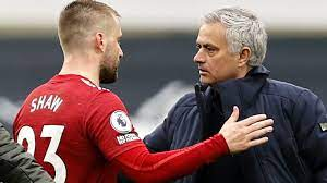 Luke Shaw, from England, puzzled by ...