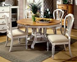 cream table and chairs for kitchen surprising rustic dining room sets furniture tables reclaimed wood carved white wooden based tablr with round brown top