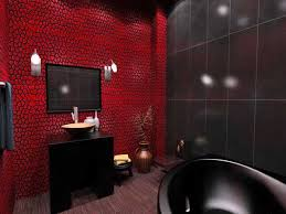 Bathroom: Gorgeous Best 25 Red Bathroom Decor Ideas On Pinterest Restroom  Of And Black from