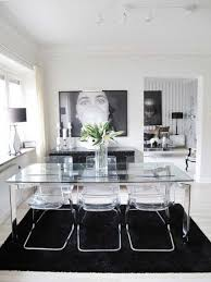 Modern Glass Dining Table Glass Dining Tables And Chairs Second Hand Top Modern Glass Dining