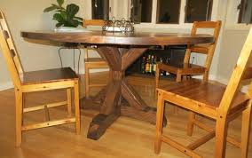 expandable woodworking room diy plans round farmhouse trestle table looking designs pedestal good expanding design outdoor