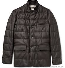 best place loro piana men dark brown leather jackets jacket martigny cashmere trimmed quilted coats and 47399czy
