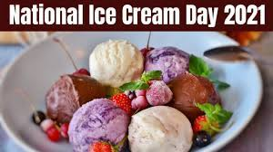 National Ice Cream Day Date 2021 - YouTube