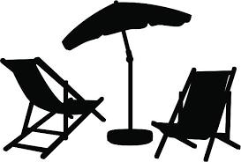 adirondack chair silhouette. Garden Furniture Silhouettes Vector Art Illustration Adirondack Chair Silhouette