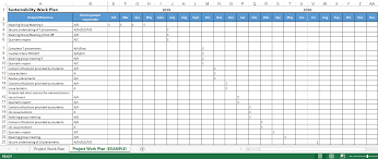 Project Excel Template Project Work Plan Excel Templates At Allbusinesstemplates