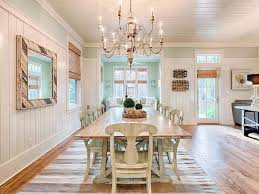 cottage dining rooms. water color, florida mint julep beach cottage dining room - sofa in dinning room! rooms