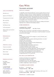 Resume Sample For Accounting Assistant Accounts Assistant Resume Sample Cv Template Capable Quintessence 20