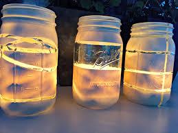 Glass Jar Lights Diy Diy Jar Lantern Easy Craft Ideas