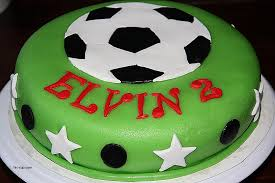 Birthday Cakes Fresh soccer Ball Birthday Cake Ide hic cup
