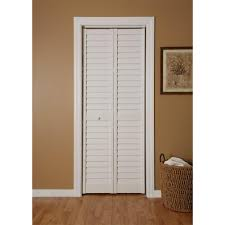 Home Fashion Technologies 24 In X 80 In 3 In Louver Louver Bifold Closet Doors Home Depot Canada