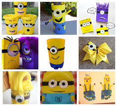 Minions Crafts and Recipes for Kids