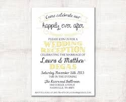 Easy Invitation Templates Post Wedding Reception Invitation Wording Including Easy On