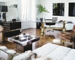 glass desks for home office. nate berkus glass desks for home office