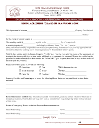 house rental agreement sample 006 template ideas housing rental agreements stirring