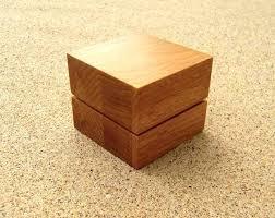 wooden ring box wood ring box diy