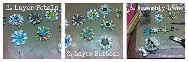 Paper Flower Punches How To Make Paper Flowers Using Paper Punches Plucking Daisies