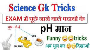 Science Trick Ph Ph Value Ph Scale Acid Base