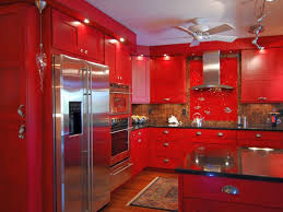 Red Lacquer Kitchen Cabinets Lacquer Kitchen Cabinets Contemporary With None Andrea Outloud