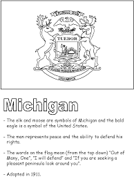 Small Picture Michigan State Flag