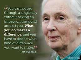 So Much To Learn From This Woman Pinned From FB Www Awesome Jane Goodall Quotes