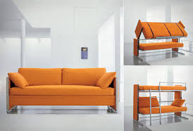convertible furniture small spaces. Sofa Bunk Bed | 12 Cool Pieces Of Convertible Furniture Small Spaces