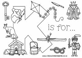 Coloring pages can be great for learning as they are fun and are also super great for stress relief! Letter K Kids Puzzles And Games