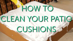 how to clean your outdoor cushions patio repair maintenance naturally oxicle large size
