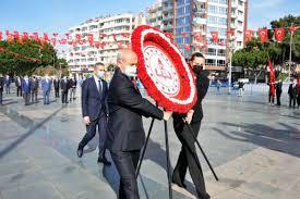 Koronavirüs tedbirli 23 Nisan töreni / Antalya Ekspres