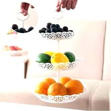 tiered fruit bowl two tier uk kitchen stand three basket holder carter stainless 2 plant wooden three tier fruit stand