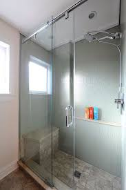 modern sliding glass shower doors. Simple Modern Renovated Glass Shower Beautiful And Unique Sliding Shower  Doors Green Backsplash Classy Modern Looking Bathroom Renovations  To Modern Glass Shower Doors O