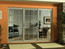 french doors with blinds between the glass 3 panel sliding patio door sliding glass doors