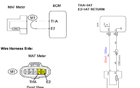 where is the coolant temperature sensor for 2005 toyota fixya here is the toyota tacoma s iat sensor diagram