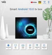 Smart TV Box T95 TV Box Android 10.0 Youtube HD 6K 4GB 32GB 64GB 128GB  Bluetooth Android TV Box 2.4G/5G WIFI Media Player TV BOX|Set-top Boxes