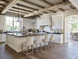 Awesome Rustic White Kitchen Decorating Ideas for Your Kitchen with Wooden  Floor
