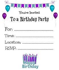 40th Birthday Invitations Free Templates Invitation Templates For Birthday Party Birthday Invitation