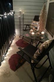 Decorate College Apartment Interesting 48 Small Balcony Lighting Ideas En 4818 Home Decor❁ Pinterest