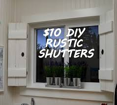 diy interior window shutters. Fine Window Create Your Own Beautiful Window Treatment With This DIY Rustic Shutters  Tutorial Throughout Diy Interior Window Shutters